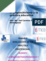 El Cognocitivismo y la práctica educativa