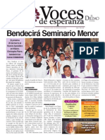 Voces de Esperanza 16 de Marzo 2014
