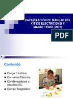 Kit Electricidad y Magnetismo 2007