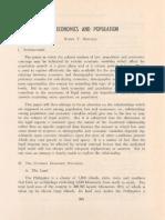 PLJ Volume 51 Number 3 -05- Ruben T. Montejo - Law, Economics and Population(1)