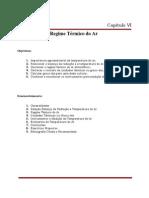 Temperatura e Regime Térmico do Ar