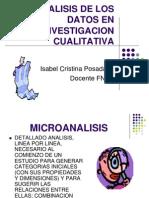 Analisis de Los Datos en Investigacion Cualitativa