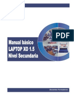 Manual Basico Laptop XO 1.5 Secundaria FINAL