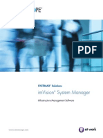 ImVision System Manager BR-106331