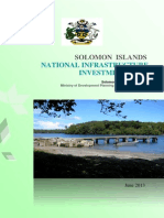 Solomon Islands National Infrastructure Investment Plan 2013