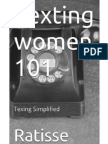 Texting Women 101 - Texting simplified