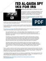 Convicted Al-qaida Spy Works for IRS