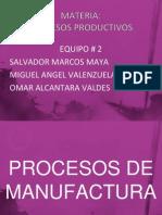 Exposicion de Procesos Productivos