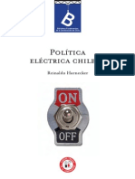 Política eléctrica chilena. (1935). (Edición 2012)