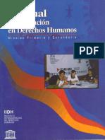 Manual de Educacion en Derechos Humanos - Niveles i y II - Iidh