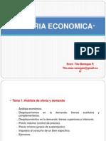 Tema 1 Análisis de oferta y demanda