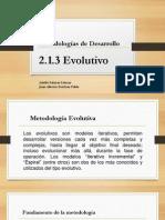 Eq3_Metodologia Evolutiva