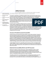 Acrobat Xi PDF Accessibility Overview