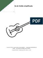 Apostila de Violão simplificada   by Andressa