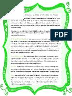 ict integration statement - green