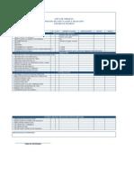 Lista de Chequeo Contratacion de Personal