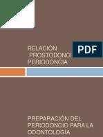 Relación Prostodoncia-Periodoncia