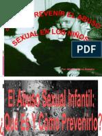 Abuso sexual en niños