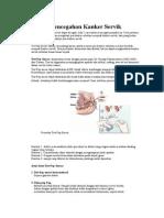 Pencegahan Kanker Servik k2