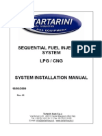 Tartarini Installation Manual