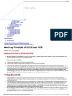 Working Principle of ELCB and RCB