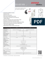 DENSO Robotics Datasheet vs 050-060 Series