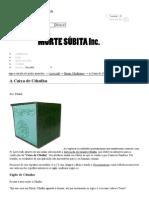 A Caixa de Cthulhu — Morte Súbita inc