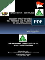 Kebijakan Dan Laks Prog Uks Kab 2013