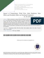 8 Impact of Temperature, Wind Flow, Solar Radiation
