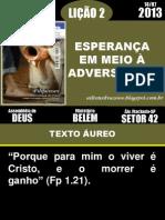 02-ESPERANÇA EM MEIO A ADVERSIDADE