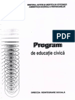 Program de Educatie Civica (1)