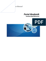 Panduan Penggunaan Portal Akademik Mahasiswa