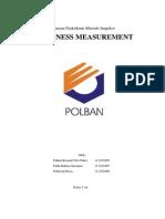 Laporan Thickness Measurement Ultrasonic