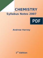 HSC Chemistry Syllabus Notes 2007