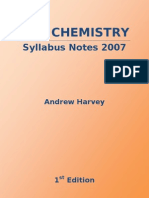 HSC Chemistry Syllabus Notes 2007