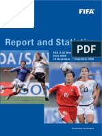 Report and statistics. Fifa U-20 Women´s World Cup Chile 2008