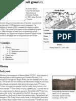 North Road (Football Ground) - Wikipedia, The Free Encyclopedia