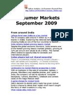 Consumer Markets September 2009
