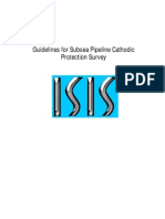 Guidelines for Subsea Pipeline Cathodic Protection Survey