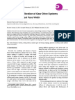 Modelling and Vibration of Gear Drive Systems Influenced by Real Face Width
