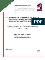 286_construccion de Rompeolas, Bordos y Rellenos Para La Ampliacion Del Puerto Progreso, Yucatan