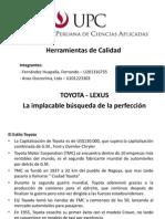 Herramientas de Calidad - Lexus