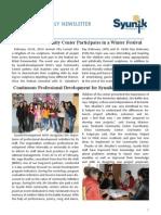 Syunik NGO Newsletter 15