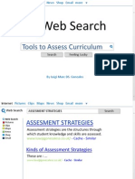 Tools to Assess Curriculum