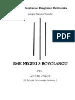 Proposal Pembuatan Rangkaian Elektronika