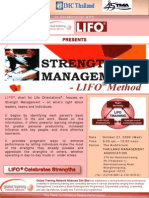LIFO Strength Management