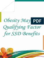 Obesity May Be a Qualifying Factor for SSD Benefits