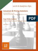 Chappuis Halder Cie Options Pricer Documentation