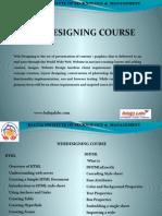 Webdesigning Course