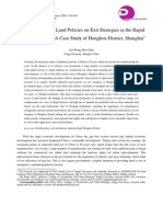 Flexible Industrial Land Policies on Exit Strategies in the Rapid Transition Period_ a Case Study of Hongkou District, Shanghai